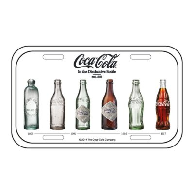 Placa decorativa - Coca-Cola