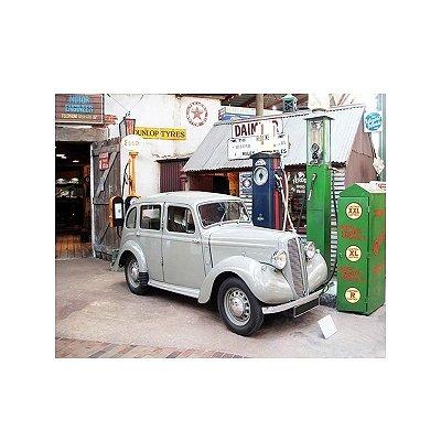 Quadro - Car and pump gas