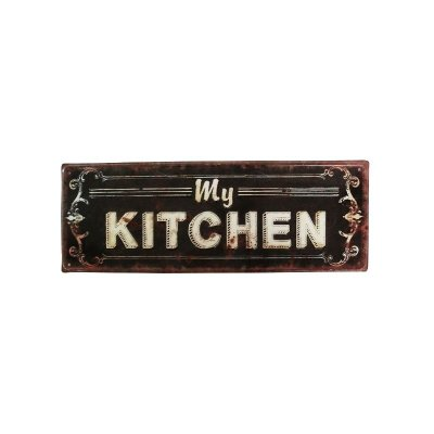 Placa decorativa - My kitchen