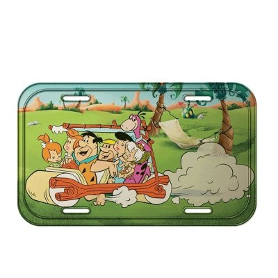 Placa decorativa - Flintstones