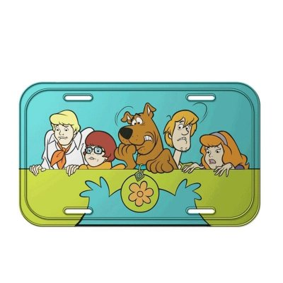 Placa decorativa - Scooby