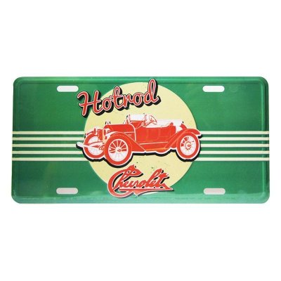 Placa decorativa -  GM jalopy hotroad
