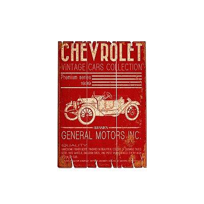 Placa decorativa - GM Jalopy vintage cars