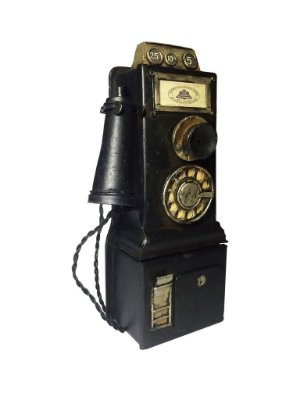 Miniatura Telefone decorativo