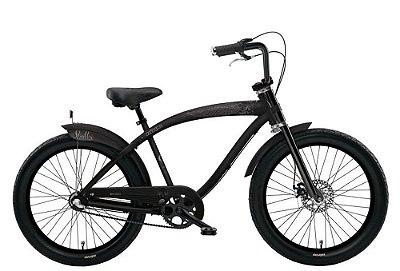 Bicicleta retrô Nirve - Skulls Raw Aluminium