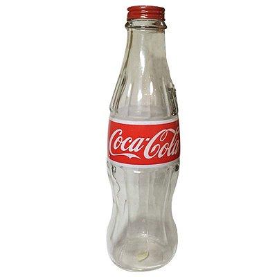 Cofre moedas - Garrafa Coca-cola