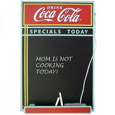 Quadro negro - Coca-Cola
