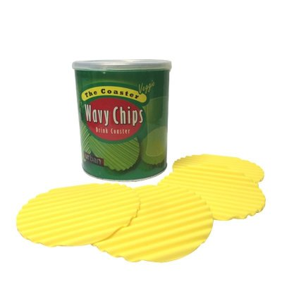 Porta copo - Wavy chips