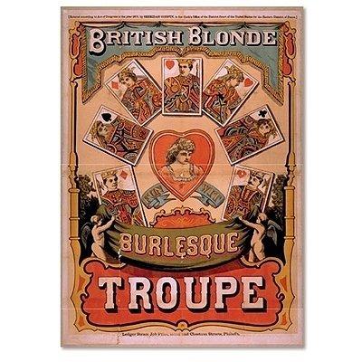Poster emoldurado - Le jazz troupe