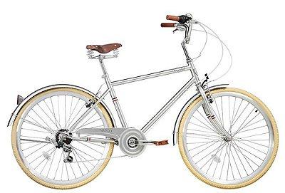 Bicicleta retrô Novello - Napoli cromada