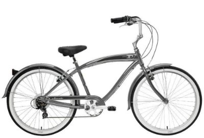 Bicicleta retrô Nirve - Classic Men's Platinum