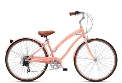 Bicicleta retrô Nirve - Starliner Ladies Orange Cream