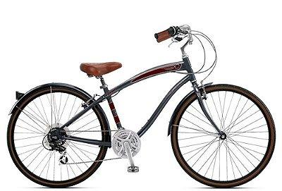 Bicicleta retrô Nirve - Starliner Mettalic Charcoal quadro 17