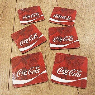 Porta copo Coca-Cola