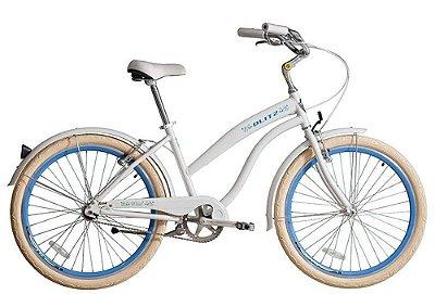 Bicicleta retrô Blitz - Wind Branca
