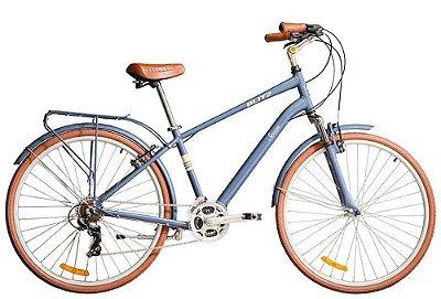 Bicicleta retrô Blitz - Seven Comfort 700 Azul