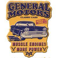 Placa decorativa - GM Muscle Engines