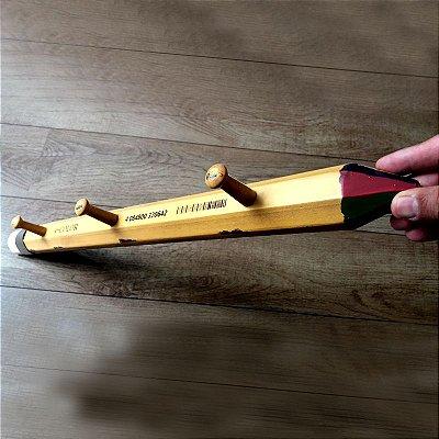 Cabideiro Big pencil 3 ganchos