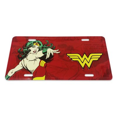 Placa decorativa - Wonder Woman