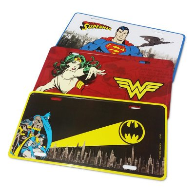 Kit placas - DC Comics