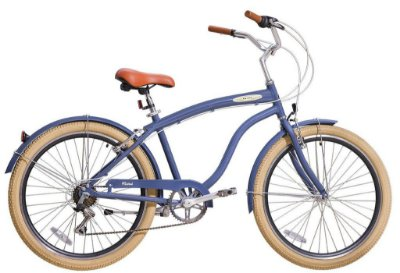 Bicicleta retrô Blitz - Mistral Azul