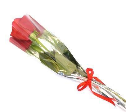 Item adicional - 1 Rosa Natural Vermelha