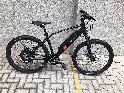 Seminário R$ 6.000 Bicicleta Sense Elétrica Impulse 8V Aro 27.5'' Tam. 17 - Usada