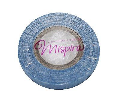 Fita adesiva em rolo para mega hair e prótese capilar - azul americana lace front – 5,48 metros