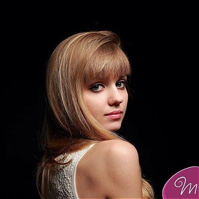 Franja SUPER PREMIUM cabelo humano #18/16 vanilla mix liso
