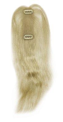 Topo SUPER PREMIUM cabelo humano #60 loiro platinado liso