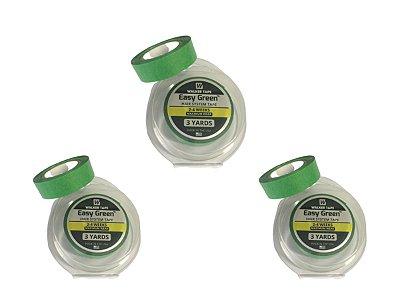 Combo 3 Fita Rolo Easy Green 3m X 1,2cm