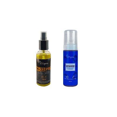 Kit Inibidor de Oleosidade P/ Prótese Capilar  + Removedor Cítrus M-22