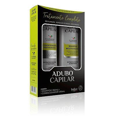 Kit Shampoo + Condicionador Restaurador Adubo Capilar