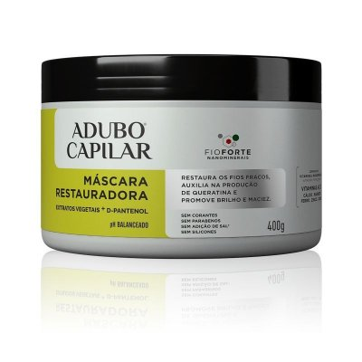 Máscara Restauradora Adubo Capilar 400g -  Cruelty Free