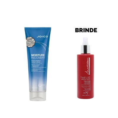 Condicionador Joico Moisture Recovery 250ml - Brinde Leave In Twelve Mediterrani 180ml