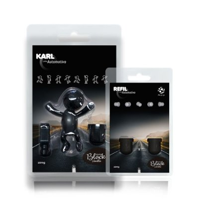 Aromatizador Automotivo Black Vanilla - Karl + Refil