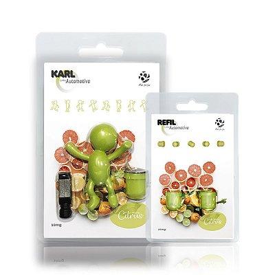 Aromatizador Automotivo Citrus - Karl + Refil
