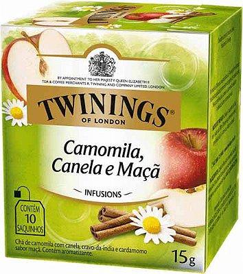 Twinings of London chá Camomila, Canela e Maça caixa com 10 sachês
