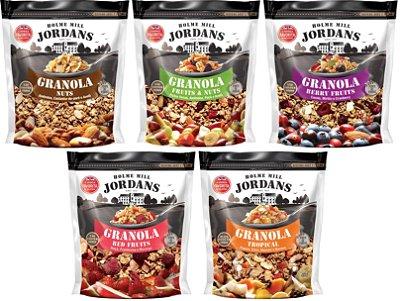 Granola Cereal Jordans conjunto completo 5un 2,0kg