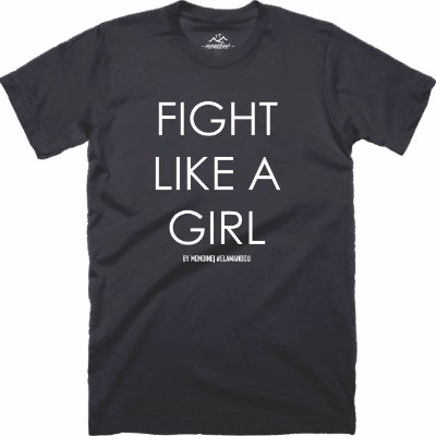 Camiseta Fight Like a Girl - Mondine
