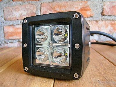 Farol Auxiliar LED 16W - Par