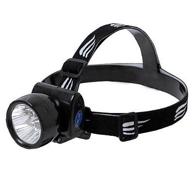 Lanterna de cabeça recarregável - LED