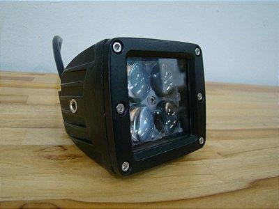 Farol Auxiliar LED 16W 4D - Par