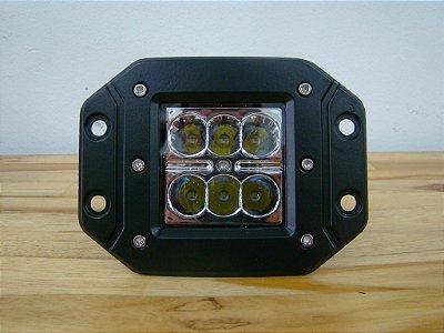 Farol Embutir LED 24W - Par