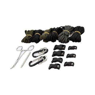 Kit para pulseira de sobrevivência Paracord