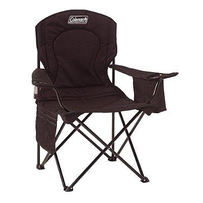 Cadeira Dobrável com Cooler - Preta