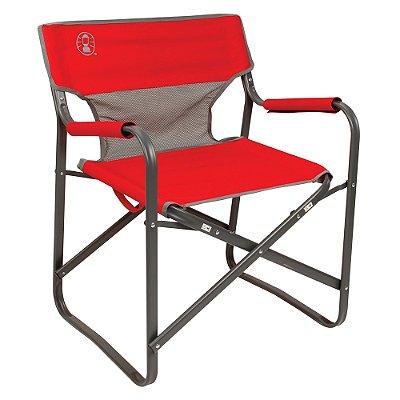 Cadeira Dobrável Steel Deck - Vermelha