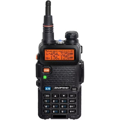 Rádio Ht Dual Band Uhf + Vhf Baofeng Uv-5r Portátil