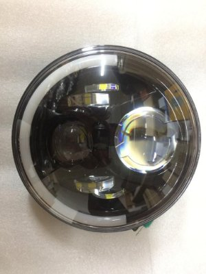 Farol Auxiliar Angel Eyes 1 LED
