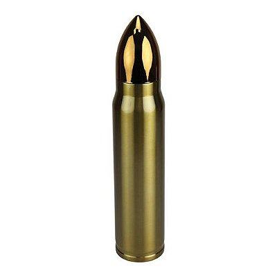Garrafa Termica Bullet 1L Dourado